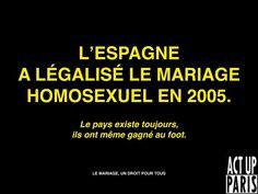 Pour le mariage homosexuel