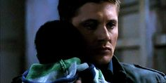 jacklesonmymind:  laoih:  shifter!Dean | 6.02  That one time Jared and Jensen played the same character.  shifter|Dean is so BAMF.  he doesn't even say a word.  its all in his eyes.  give me my fucking baby  …  asshole.
