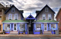 The former LaLa Land Restaurant in Rehoboth Beach, DE.  There's a beautiful bamboo bar in the back!