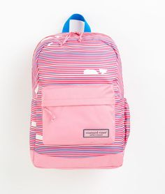 Vineyard Vines Whale Line Backpack- super cute for back to school!