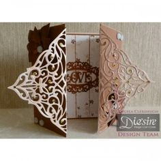 Diesire Create-a-Card Metal Die - Toulouse - Decorative Dies - Die'Sire - Dies - Card & PaperCraft