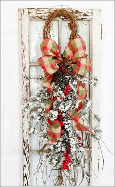 Christmas decor # floral#swag#door wreath
