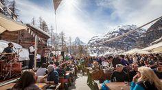 Location: Cervo Zermatt  Zermatt Unplugged Festival 2013