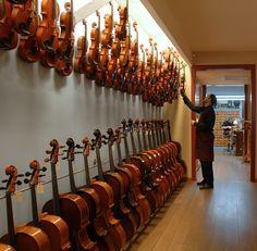 Buscando violas en luthiervidal. La buena selección es fundamental.