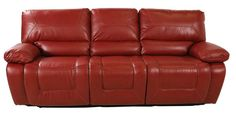 This Friday get this lovely Power Reclining Sofa in red or black for HUNDREDS off the retail price!