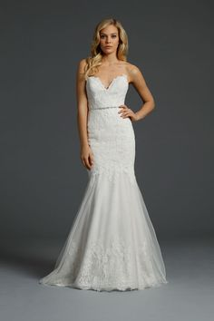 Alvina Valenta Wedding Dresses. To see more: http://www.modwedding.com/2014/07/15/alvina-valenta-wedding-dresses/ #wedding #weddings #wedding_dress