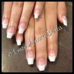 Classic French Over Natural Nails #nails #nail #fashion #style #maniq #cute #beauty #beautiful #instagood #pretty #girl #girls #stylish #styled #youngnails #gelnails #french #love #shiny #gelpolish #nailswag #follow #loveadorabella