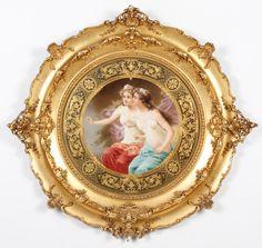 Berlin KPM Porcelain Plaque - $12,000