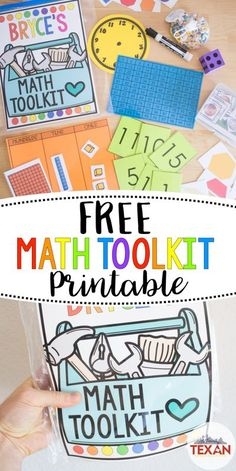 Wondering how to ensure students get hands on math practice during this time of distance learning, hybrid teaching, and social distancing? Create personal math toolkits with this FREE printable resource to help your Kindergarten, First Grade, and Second