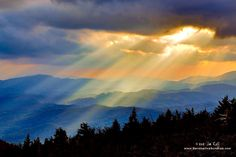 Beautiful shot near Blowing Rock, NC