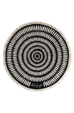The Beach People 'Tulum' Round Beach Towel available at #Nordstrom