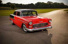 4 1955 Chevy Bel Air Big Block Grimes