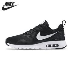 competitive price 86277 649a1 D origine NIKE AIR MAX TAVAS Hommes de Chaussures de Course Sneakers Top Running  Shoes