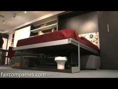 Incredible space-saver innovations! Ahorrar espacio con muebles innovadores - YouTube