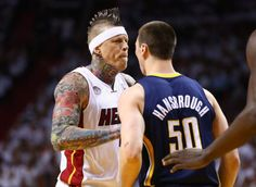 Why The Miami Heat's Tattooed Piece Of Shit Is Rapidly Becoming My Favorite NBA Player