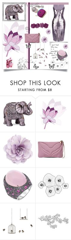 """""""Violet"""" by alongcametwiggy ❤ liked on Polyvore featuring Boho Boutique, Paco Rabanne, Cara, M Missoni, Phillip Gavriel, Polaroid, Percival and ferm LIVING"""