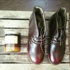 Burgundy ankle boots Brand new  Never been worn Comes in original box bella Marie  Shoes Ankle Boots & Booties