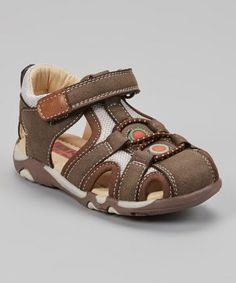 e81a794af9ad This Beeko Brown Damian Closed-Toe Sandal by Beeko is perfect!