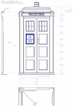tardis blueprint