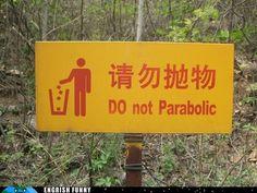 Come again?! #mistranslation