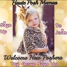 New Member Welcome Tag List - Haute Posh Mamas Sign up if you'd like to help welcome new PM members. Personally I believe in welcoming them, but not overwhelming them with to much info. It's up to each individual how you wish to welcome them. Doing this you not only make them feel welcomed, you can be a resource person for them, possible mentor & help guide them if they ask. An added benefit is that you can gain new followers from new members! No chatting under listing. Simply tag your name…