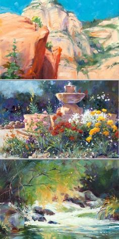 Julie Pollard is a skilled professional who provides quality oil painting and workshops and watercolor classes for adults of all artistic levels.