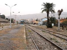 Gare de Bouira.