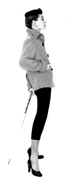 John French, 1950 #Vintage #Fashion #Chic