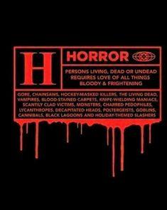 I love horror movies! #horrormovies #zombies #vampires #samhain #allhallowseve #halloween #jasonvoorhees #leatherface #slasherfilm #freddykrueger #michaelmyers