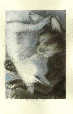 Andreï Arinouchkine (Russian illustrator, b. 1964) a.k.a. Kot-Hudojnik