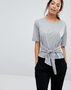 New Look Front Knot Top