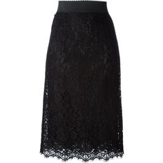 Dolce and Gabbana Floral Lace Pencil Skirt (999,840 KRW) ❤ liked on Polyvore featuring skirts, bottoms, kirna zabete, sale, high-waist skirt, floral print pencil skirt, floral pencil skirt, scalloped lace skirt and lace pencil skirt