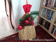 Accidentaccio: La scopa di saggina vestita a festa