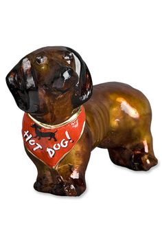 Joy to the World Collectibles 'Red Dachshund' Dog Ornament available at #Nordstrom