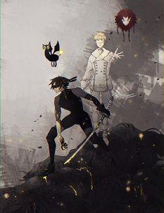 Akira Fudo [Devilman] & DevilCat & Ryo Asuka [Satan] & Pyscho Jenny