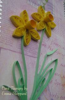 Quilled Daffodils