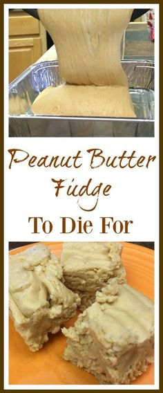 This is the best peanut butter fudge recipe around. The peanut butter fudge with marshmallow cream is easy to make and is a delicious h. Best Peanut Butter Fudge, Peanut Butter Chips, Peanut Butter Recipes, Fudge Recipes, Dessert Recipes, Homemade Peanut Butter Cookies, Peanut Butter Truffles, Recipe For Fudge, Peanut Butter Substitute