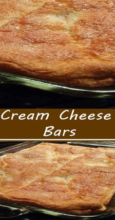 Recipes Appetizers And Snacks, Yummy Snacks, Delicious Desserts, Yummy Food, Bar Recipes, Cookie Desserts, Just Desserts, Cookie Recipes, Cream Cheese Bars