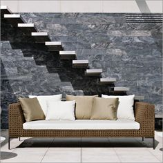 B Italia Outdoor Charles 3 Seater Sofa By Antonio Citterio