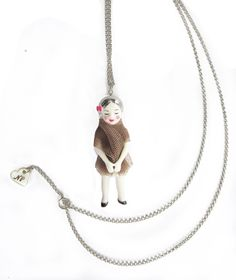 doll necklace by natacha plano