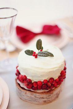mini christmas cake #recipes