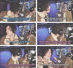 Matty and George on BBC radio