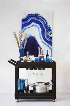 Gorgeous Holiday Bar Carts That Only Look Expensive