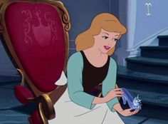 """But, you see, I have the other slipper."" - Cinderella"
