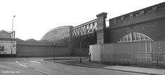 Bridge over Station Street: the original Great Central railway bridge over the station in Now replaced with the new tram bridge in 2014 Nottingham City, Old Train Station, Steam Railway, Old Photos, Scenery, Old Things, History, Street, Tri