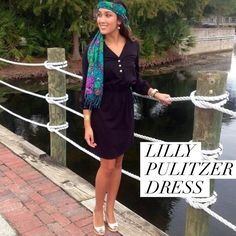 "// L i l l y P u l i t z e r • D r e s s • Sz M // Lilly Pulitzer EUC Beckett Knit dress Sz M. We all love Lilly for her great prints, but have you seen this SOLID shirt dress?! The ""Beckett"" dress is an easy-fitting cotton jersey number with comfy elastic waist and signature gold buttons and 3/4 sleeves. Style it with gold wedges and bold jewelry or take a laid back approach with classic riding boots.   Fits true to size. Lilly Pulitzer Dresses"