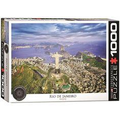 Rio De Janeiro Brazil - 1000 Piece Jigsaw Puzzle