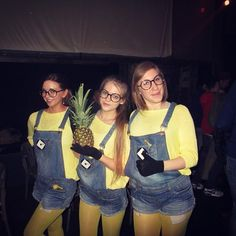 Pin for Later: 3 of a Kind: 21 Trio Costumes to Wear With Your Best Friends Minions