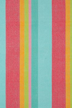 Dash & Albert | Tiki Stripe Woven Cotton Rug