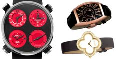 Luxury watches to compliment every holiday!